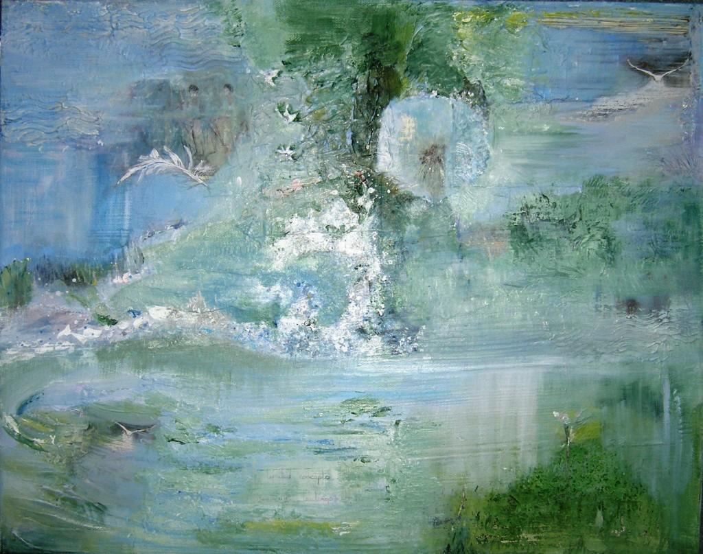 White Swan Meditation, Sally Parker, ArtQuartet